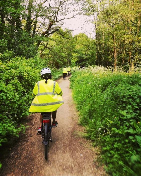 Led Ride. Greener Birmingham, Share The Ride, GetOutside